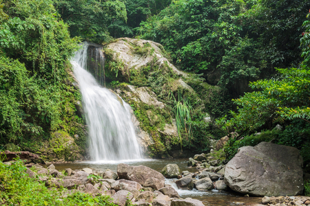 Waterfall in National Park, Suratthani Thailand