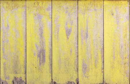 Yellow old wood Wall, texture background