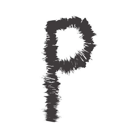 compatible: small font black p compatible with font black A-Z and can to do many thing on web design or website.