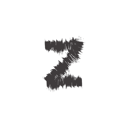compatible: small font black z compatible with font black A-Z and can to do many thing on web design or website. Illustration
