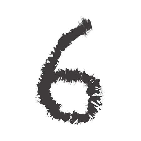 number black six compatible with font black A-Z and small font black a-z,can to do many thing on web design or website.