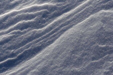 snow drift: An abstract background close up of a snow drift.