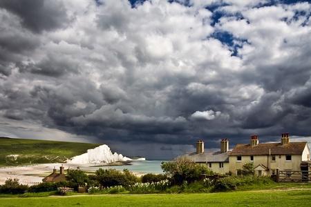 coastguard: Storm brewing over the Seven Sisters