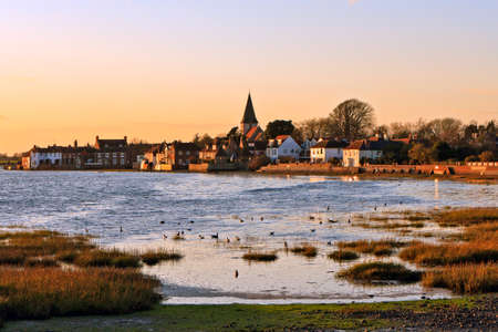winters: A winters afternoon at Bosham Stock Photo