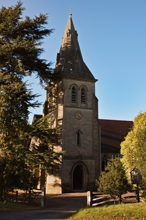 View of Colemans Hatch church photo