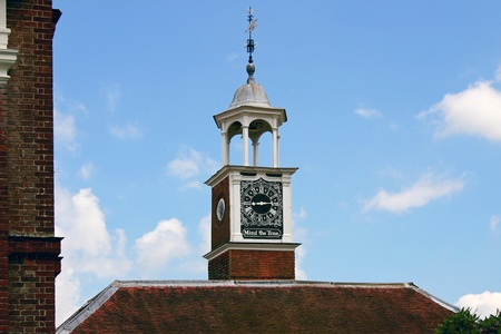 Mind the Time clock at a school in Matfield Kent photo