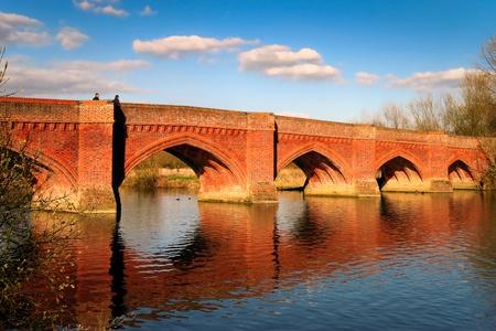Clifton Hampden bridge near Burcot Oxfordshire Stock Photo - 8405938