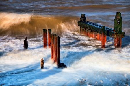 Reculver sea defences Stock Photo - 8405924