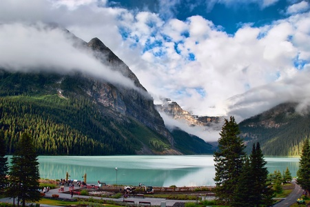 View of Lake Louise photo