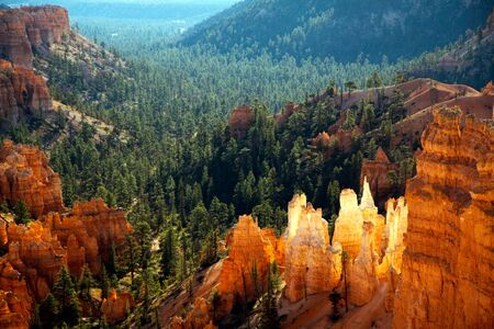 Scenic view of Bryce Canyon Southern Utah USA photo