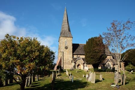 View of Wisborough Green church