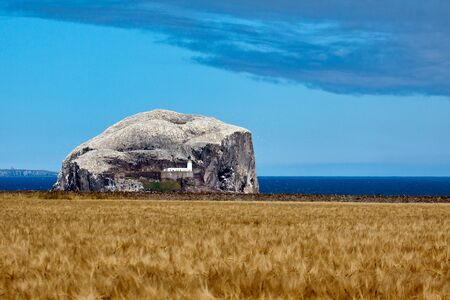 View of Bass Rock Stock Photo - 8410679