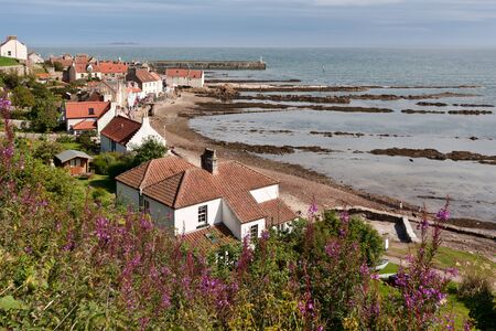 fife: View of Pittenweem Fife Scotland