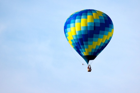 Hot air ballooning photo