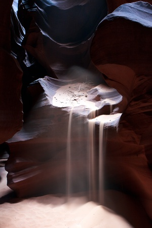 slot canyons: Upper Antelope Canyon