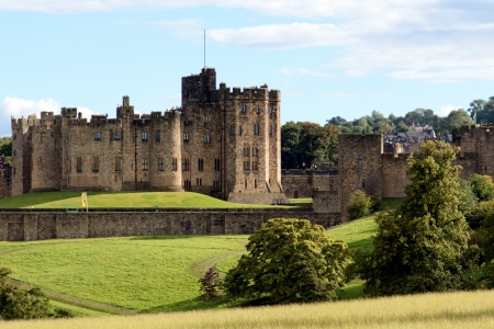 View of Alnwick Castle