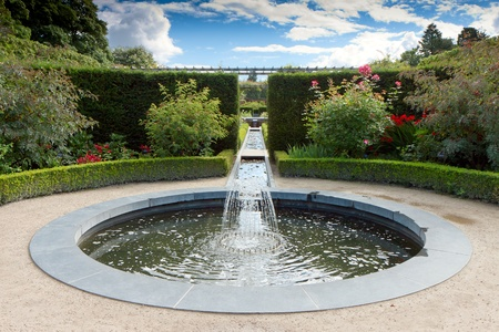 water feature: Water feature in Alnwick Castle gardens northumberland