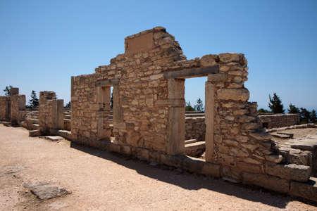 Temple of Apollo near Koun Cyprus Europe Stock Photo - 8415990