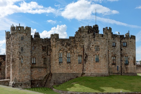 alfarero: Vista del castillo de Alnwick