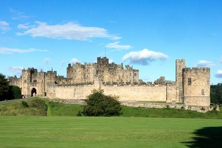 ramparts: View of Alnwick Castle