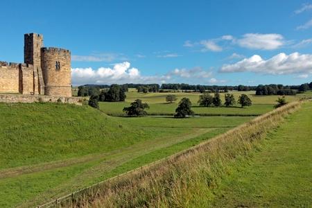 View of Alnwick Castle photo