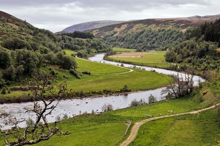 River Findhorn Foto de archivo