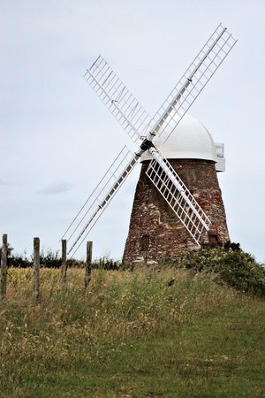 sussex: Halnaker windmill in Sussex
