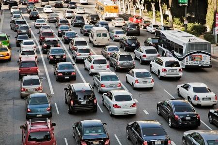 angeles: Los Angeles traffic
