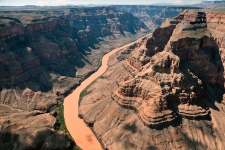 rock canyon: Aerial view of the Grand Canyon