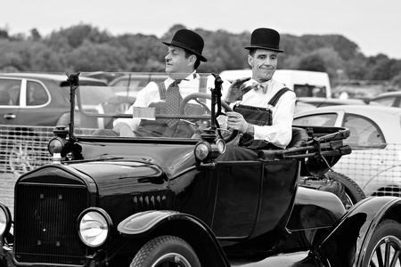 hardy: Laurel and Hardy look alikes Editorial