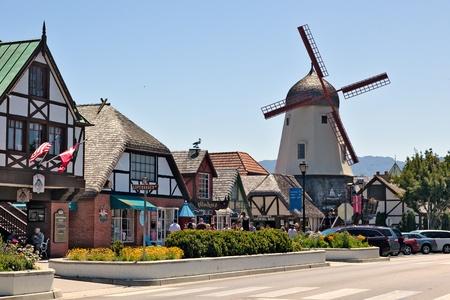 Main street in Solvang
