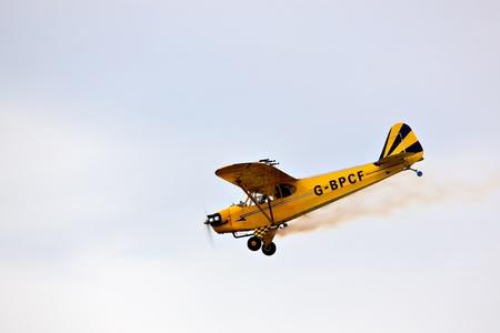 piper: Piper J3 Cub G-BPCF Editorial