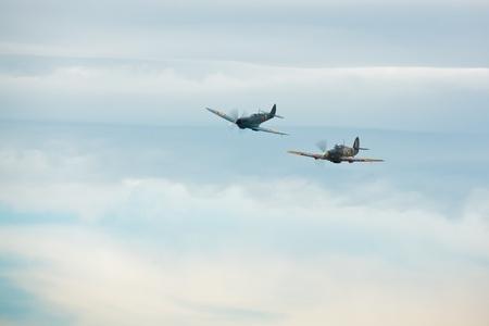 hawker: Supermarine Spitfire PR XI PL965 and Hawker Hurricane Mk.IIb Editorial