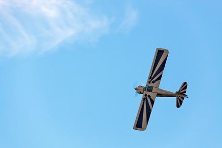 fixed wing aircraft: Justyn Gorman - American Champion Decathlon - Bellanca 8KCAB Super Decathlon G-IZZZ