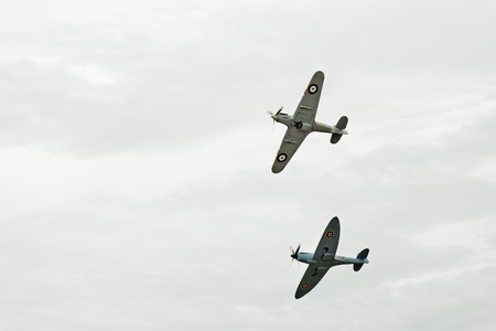 vickers: Supermarine Spitfire PR XI PL965 and Hawker Hurricane Mk.IIb Editorial