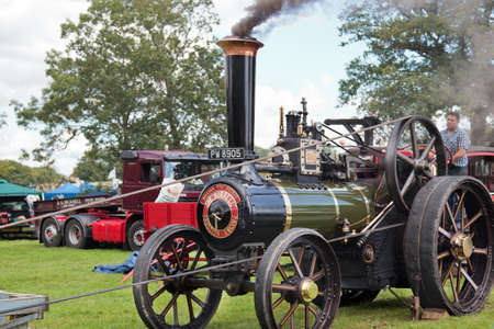 Traction engine at Rudwick Steam Fair