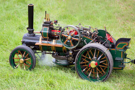 Toy traction engine at Rudwick Steam Fair