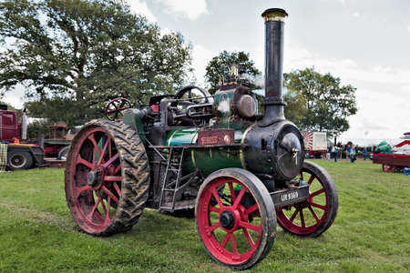 traction engine: Traction engine at Rudwick Steam Fair