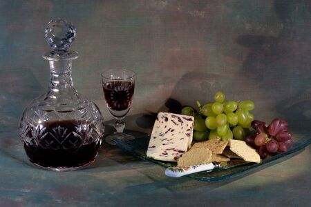 wensleydale: Still life Stock Photo