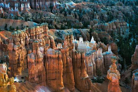 Scenic view of Bryce Canyon Southern Utah USA Stock Photo - 11750967