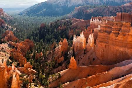 Scenic view of Bryce Canyon Southern Utah USA photo
