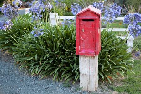 New Zealand post box