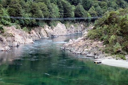 longest: NZ longest swingbridge