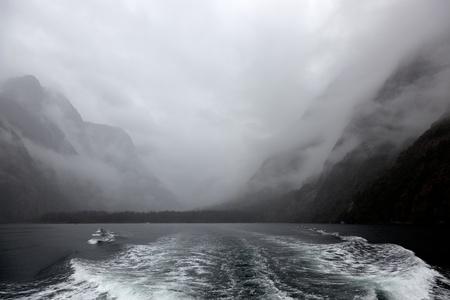 milford: Milford Sound Stock Photo