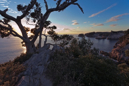 Sunrise at Te Pare Point photo