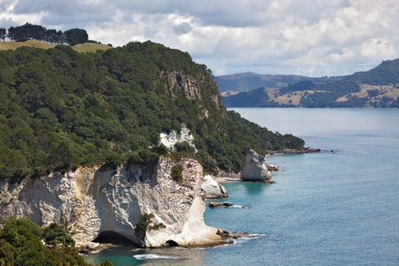 View towards Cathedral Cove photo