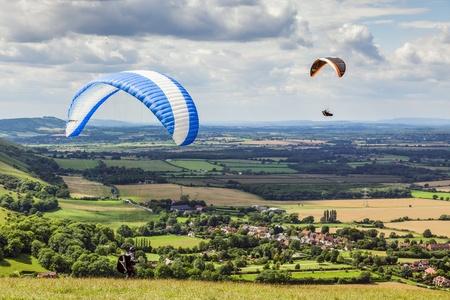 dyke: Paragliding at Devils Dyke Editorial