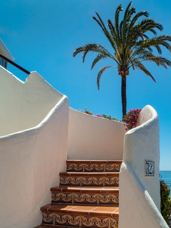 Spanish staircase Stock Photo - 13818798