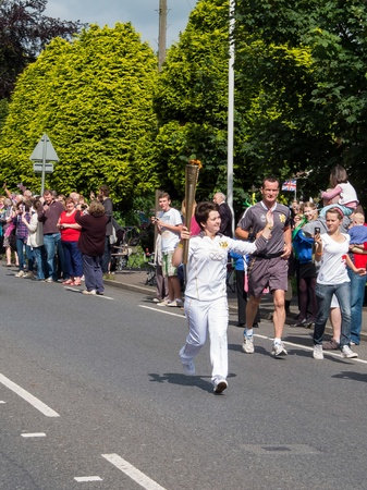 grinstead: Olympic flame comes to East Grinstead