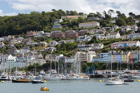 afloat: View across the River Dart towards Dartmouth